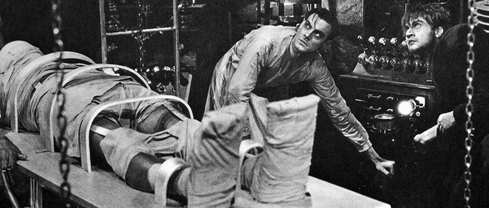 Frankenstein (1931) Clive & Frye