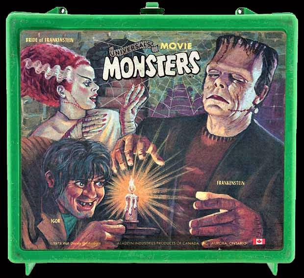 Universal Movie Monsters lunch box Frankenstein