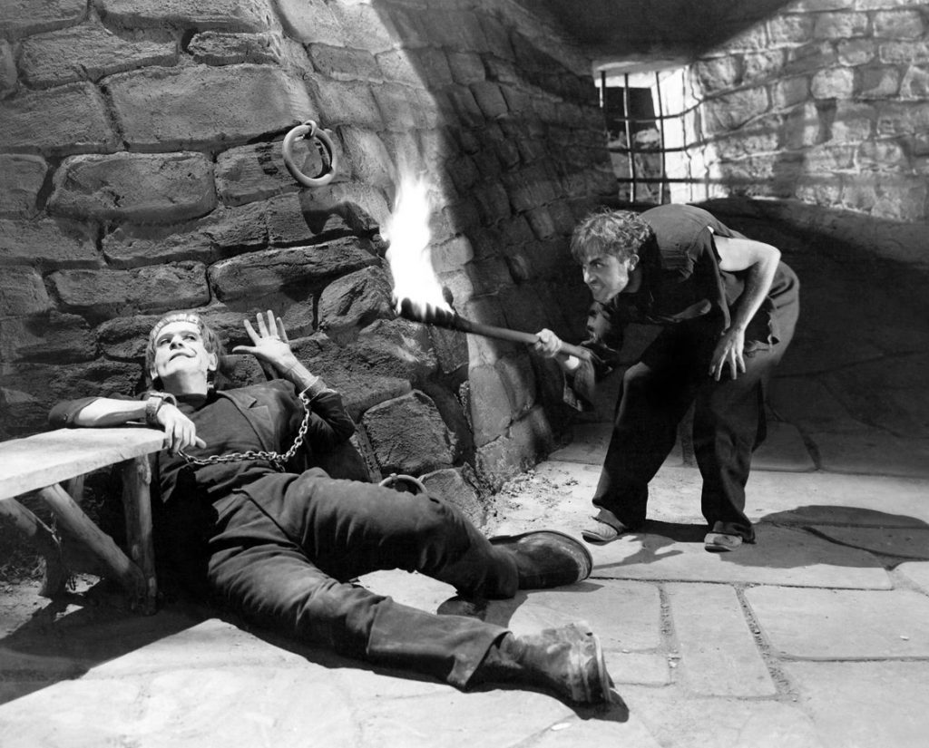 Frankenstein (1931) Karloof and Frye