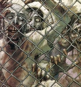 Art from The Walking Dead comic book