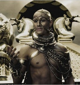 Rodrigo Santoro as Xerxes in 300