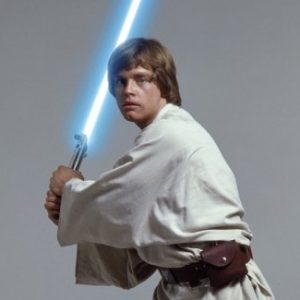 Luke Skywalker in the original Star Wars trilogy