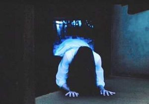 Still from the Japanese version of The Ring