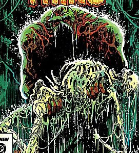 A panel from Alan Moore's Swamp Thing comic series