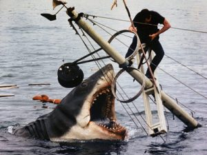 JAWS: one of the blockbusters that changed the way movies are released