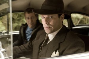 (L-R) Colin Ferguson, James Callis as Dr. Grant