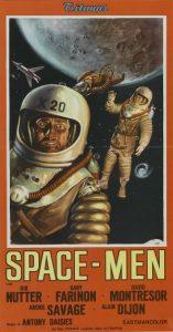 Italian Poster SPACE-MEN