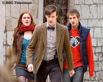 Amy, The Doctorm and Rory - Vampires of Venice