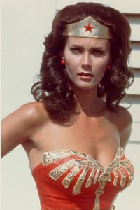 Linda Cater as WONDER WOMAN