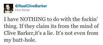 CliveBarkerTweet2