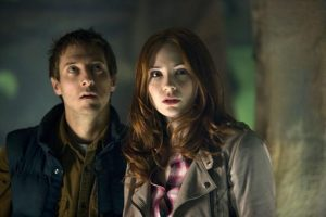 Rory Williams (Arthur Darvill)  and Amy Pond
