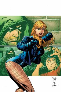 Black Canary in DC's Green Arrow comic books