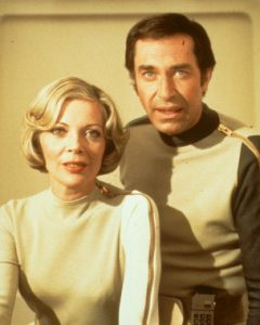 SPACE: 1999 Stars Barbara Bain and Martin Landau