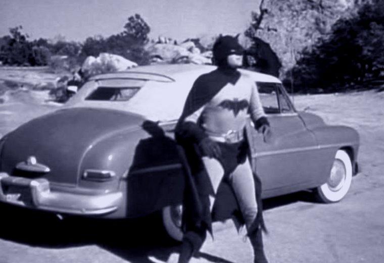Where's the Batmobile? Whadda mean you made a deal?