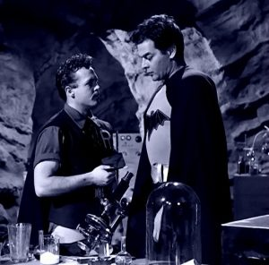 Johnny Duncan, Robert Lowery in the Batcave