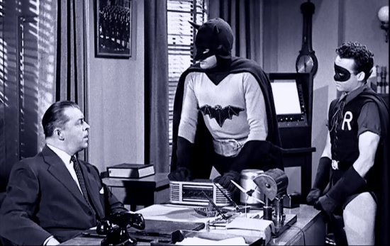 BATMAN AND ROBIN (1949) Lyle Talbot, Robert Lowery, Johnny Duncan