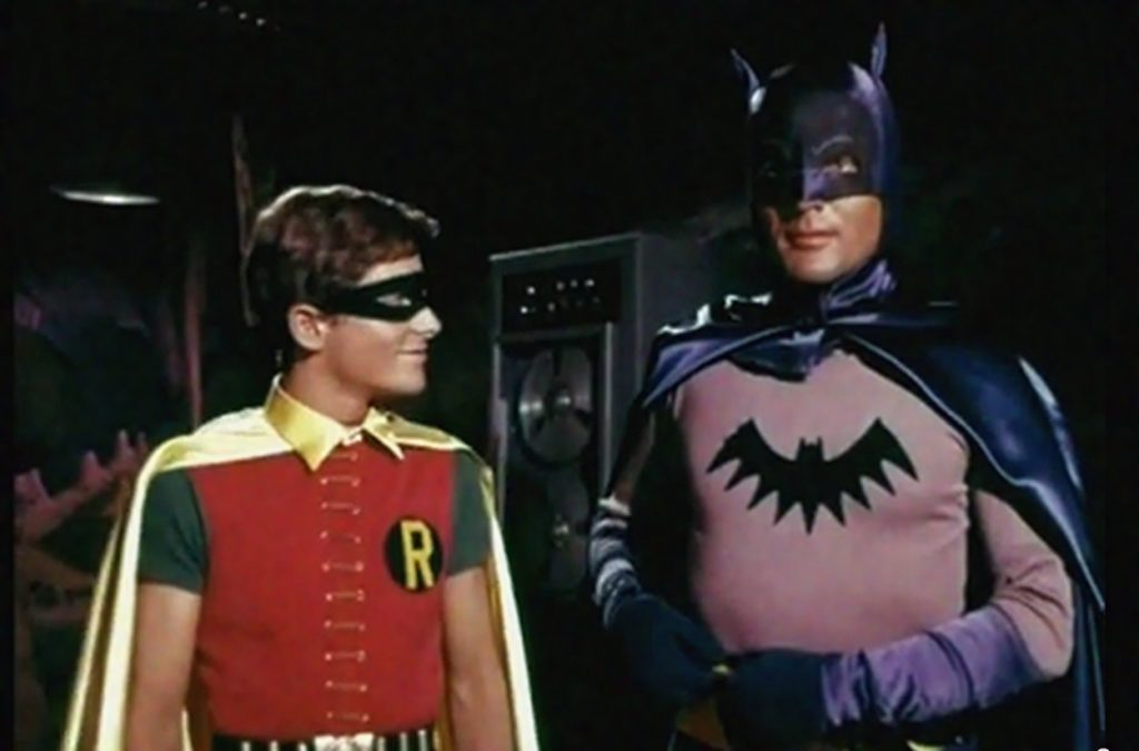 Batman TV Screen Test