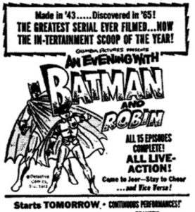 An Evening With Batman & Robin
