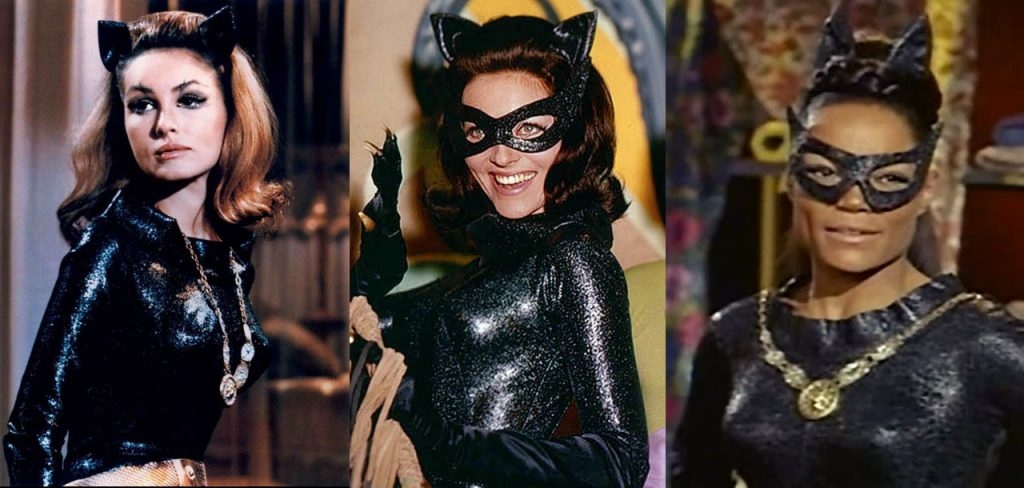 A Trio of Catwomen: Julie Newar, Lee Merriweather, Eartha Kitt
